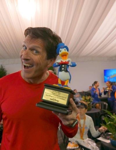 Doug Thurston & Donald Duck by Doug Thurston